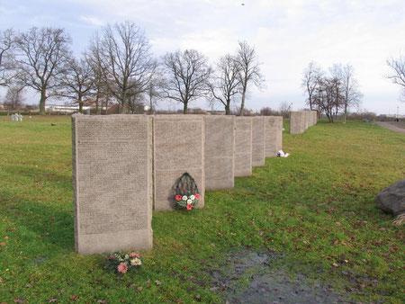 Немецко - русское кладбище 1 и 2 мировой войны.
