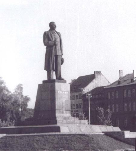 1959 Памятник Сталина