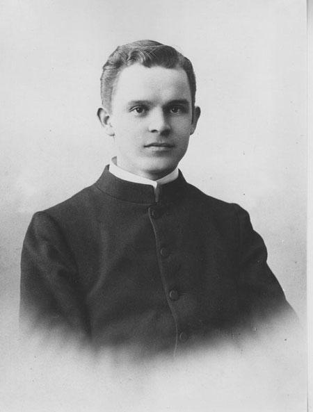 Pfarrer Josef Anton Kaufmann (Foto Zipser, Baden)