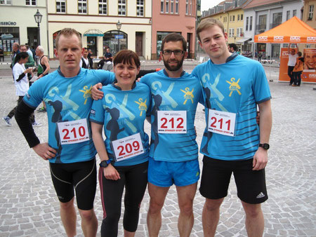 "Das Siegerteam der Mixed-Staffeln - Das Team ""Alte Fabrik 2"""