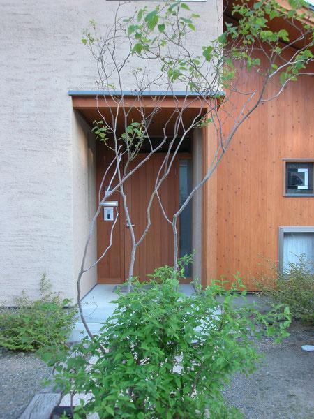 梓川の家Ⅰ車庫計画模 長野県松本市の建築設計事務所 建築家