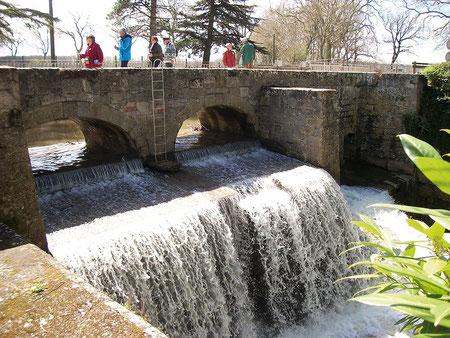 Grâce au poste des Thoumasses on empêchait tous les sédiments d'aller se déposer dans le canal - crédit photo : Gérard Crevon