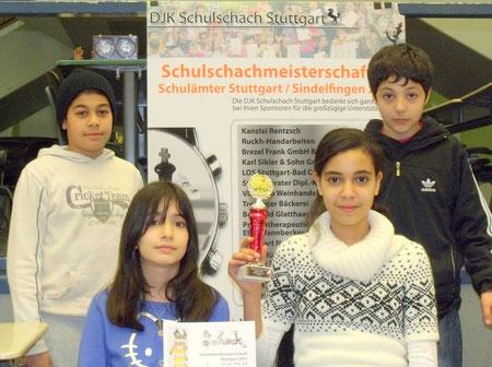Sieger WK Realschulen: Schloss-Realschule