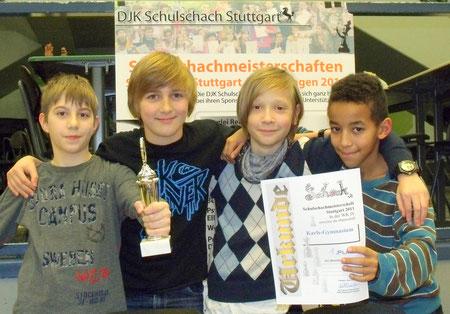 Sieger WK IV: Karls-Gymnasium