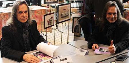 L'auteur Reidroc à la 6ème Caravane Littéraire d'Yzeurespace en 2016