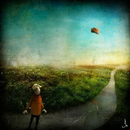 Exelentes Ilustraciones Surrealistas Por Alexander Jansson