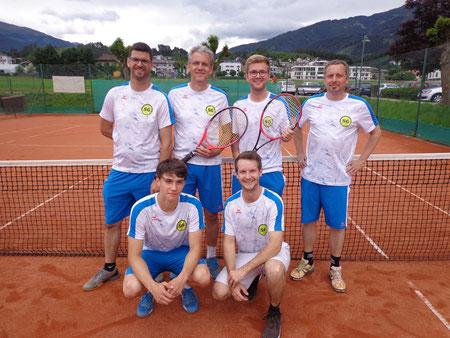 Thomas, nochmal Thomas, Klausi, Florian, Paul und Michael (nicht im Bild Manuel und Mario)