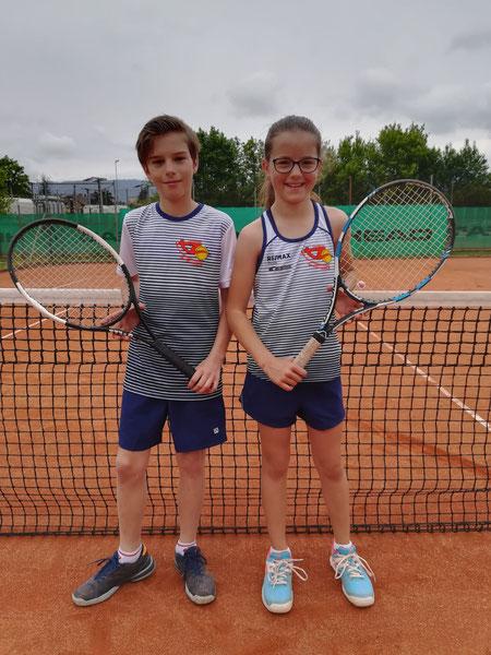 Christoph und Sophia (nicht im Bild Andreas und Jonas)