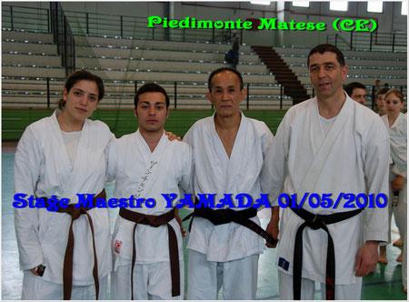 Ines, Vincenzo, M° Yamada, M° Grasso