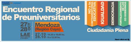ENCUENTRO REGIONAL DE PREUNIVERSITARIOS (CUYO) - CH
