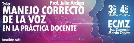 MANEJO CORRECTO DE LA VOZ EN LA PRÁCTICA DOCENTE
