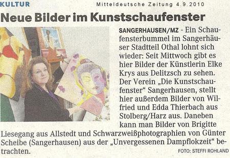 Ausstellung in Sangerhausen/ Stadtteil Othal ...