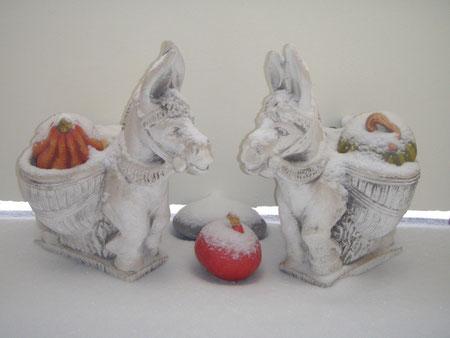 Stein-Esel aus Spanien ...