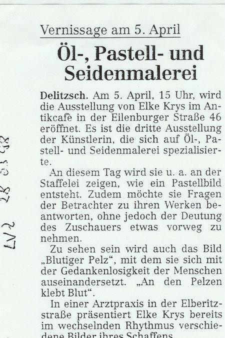 Leipziger-VZ 28.03.1998  Bild und Text: Detlef Schwuchow