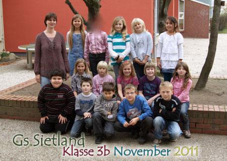 Klasse 3b mit Frau Albrecht