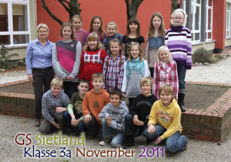 Klasse 3a mit Frau Koch