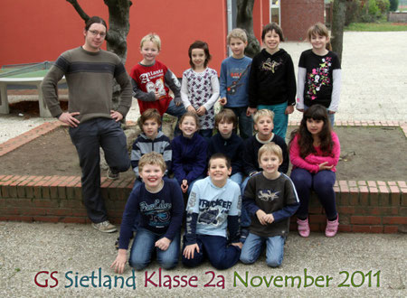 Klasse 2a mit Herrn Möllenkamp