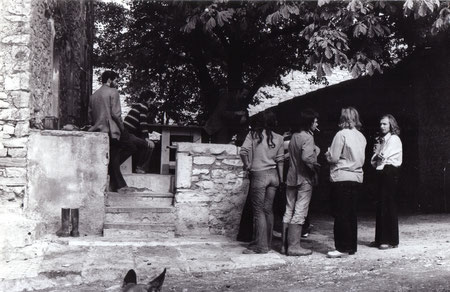 Au Pigeonnier en 1973