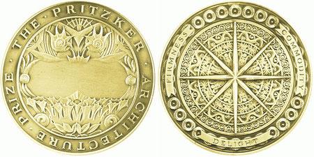Медаль притцкеровской премии.
