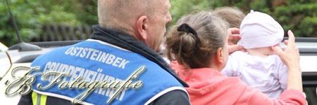 09.09.2011 - SH/Oststeinbek: Baby in PKW eingeschlossen