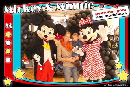 Fotoaktion mit Mickey & Minnie