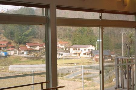 デイサービスかじかの郷 施設から見る風景1