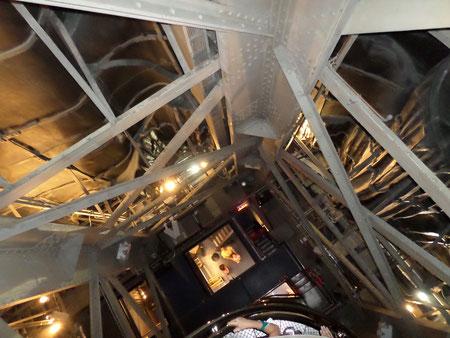 L'escalier intérieur pour accéder à la couronne