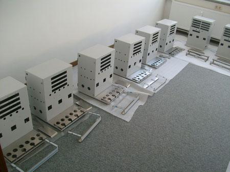 Storage of cabinets