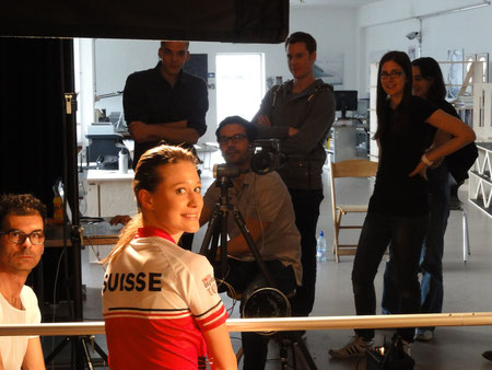 Fotoshooting Postfinance