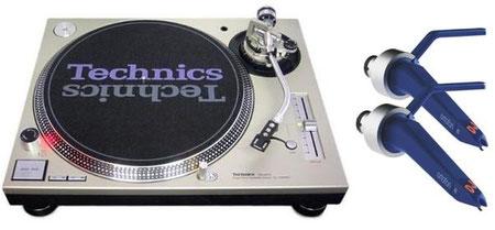 Platines vinyles - TECHNICS SL1200 MK5______________Cellules vinyles - ORTOFON DJ