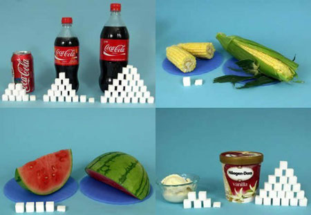 Comidas equivalente a una lata de Coca Cola