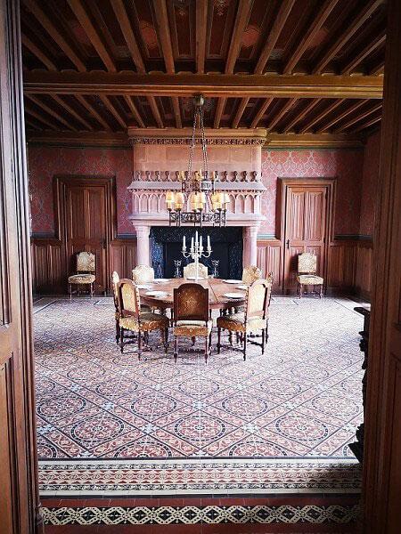 L'orgue des parfums au chateau de Chamerolles