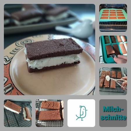 Milchschnitte  - selbst gebacken mit dem Snack-Maker von Pampered Chef®