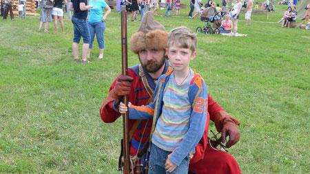 Сын Серафим со стрельцом