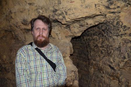 в пещерах Саровского монастыря