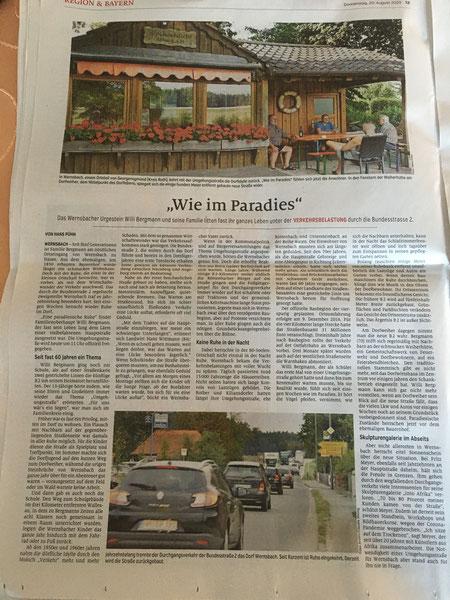 B2 Wernsbach Ortsumgehung Paradies