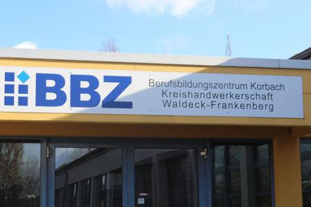 Besuch der Projektwerkstatt im BBZ Korbach (Klasse H2)