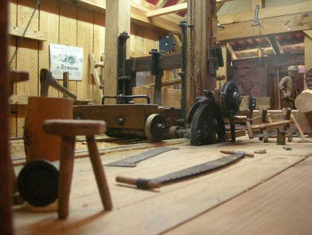 Maquette de scierie