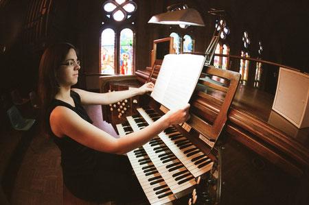Gabrielle Tessier orgue Saint-Germain d'Outremont