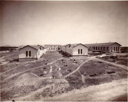 Construction de l'hôpital en 1929 - Doc. Francine Ponsenard
