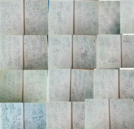 絵本キャラ固めの特訓 ab-絵本創作塾 創作絵本コース