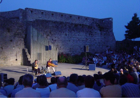 "Duo ""Bardou"" concert in Concarneau (Brittany)"