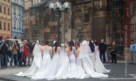 Bräute in Prag