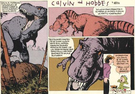 Analogía con CALVIN & HOBBES