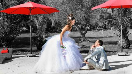 Les Photos du mariage a Balma