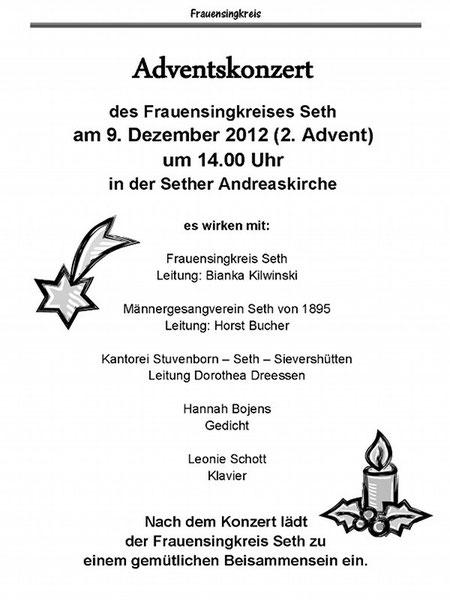 © 2o12 Ev.-Luth. Kirchengem. Stuvenborn