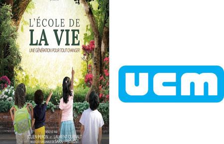 Film L'école de la vie, une génération pour tout changer, mardi 16/10 à l'UCM Namur 15H00