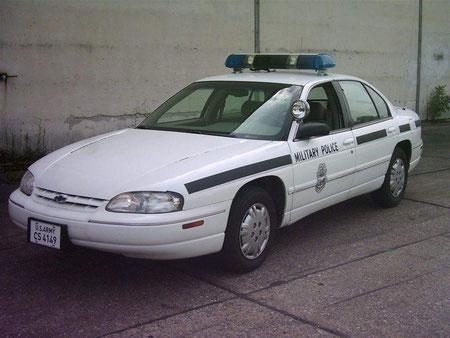 Chevrolet Lumina Ausführung US Army Military Police in Deutschland bis 2003
