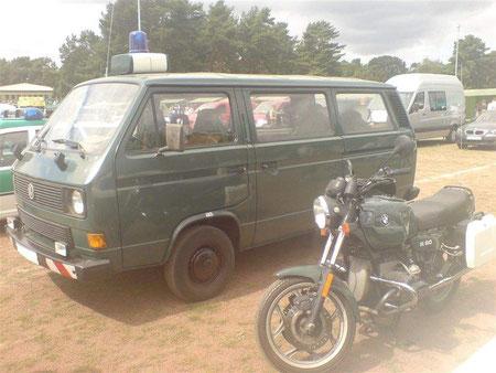 Volkswagen Transporter T3 Ausführung Bundesgrenzschutz
