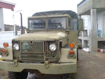 Der M 35A1 gefunden bei einem Autohändler in Süd Deutschland